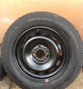 Колесо запасное R15 на форд фокус 2, 3
