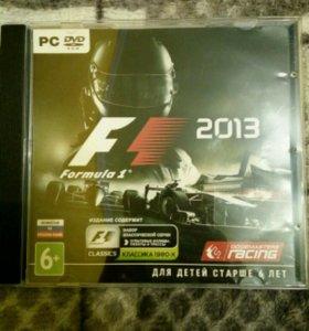 Диск Formula 1 /2013/ гонки