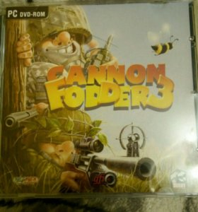 Диск Cannon Fodder 3/ аркада/ от 3 лица