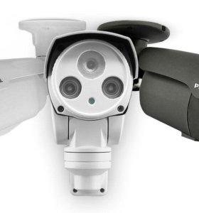 Установка камер, монтаж видеонаблюдения, камеры