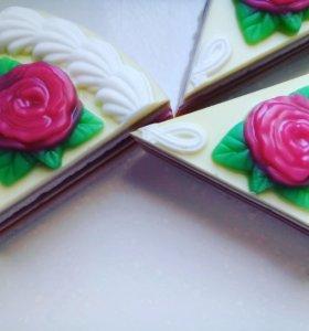 Мыло Кусочек тортика