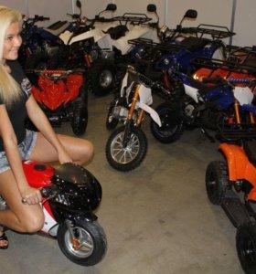 Мини Мотоцикл для детей на бензине