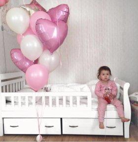 Детская кровать Next-2 из массива сосны