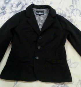 Пиджак для девочки, х/б, р-р 128