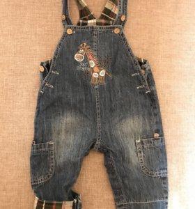 Комбинезон джинсовый детский Новый