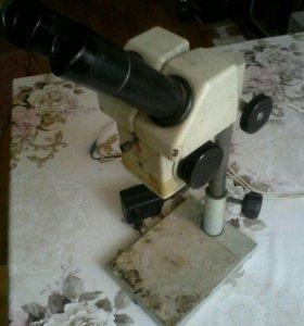 Микроскоп бинокулярный мбс-9