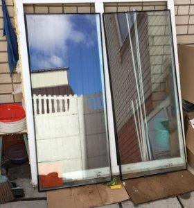 Пластиковое окно 149x164