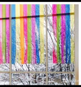 Цветные шторы Икеа