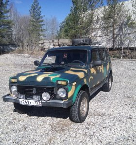 ВАЗ (Lada) 4x4, 2003