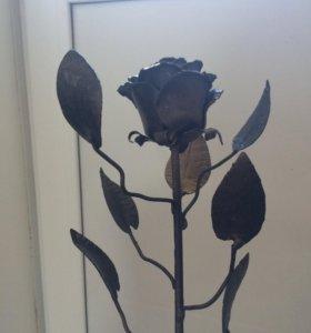 Роза из металла. Под заказ