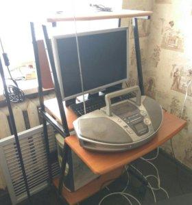 стол компьютерный, кугеси