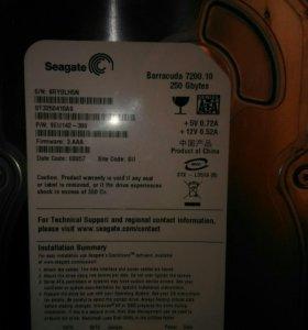 Продам венчестер 250 gb.В отличном состоянии.