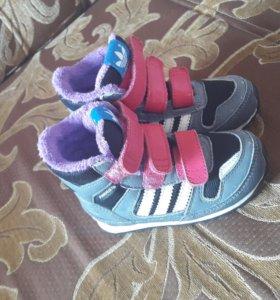 Утепленные детские кроссовки