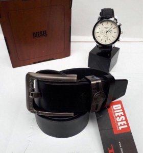 Часы+ремень идеальный подарок