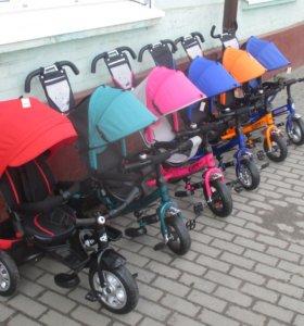 Новые трехколесные велосипеды