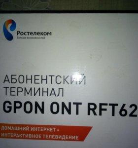 Абонентский терминал GPON RFT-620 от Ростелеком
