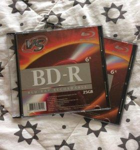 Чистый диск Blu-ray