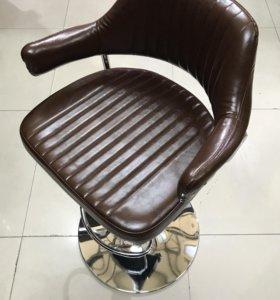 Кресло парикмахерское Cherokee (Коричневый)