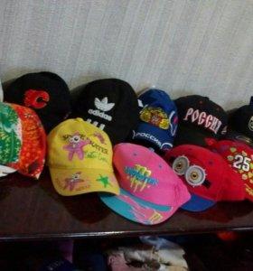 Летние кепки новые