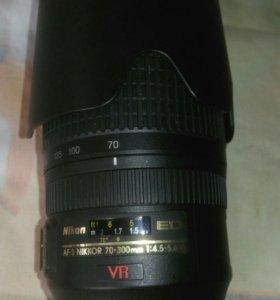 Объектив  Nikkor 70-300 mm
