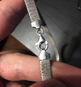 Украшения серебро