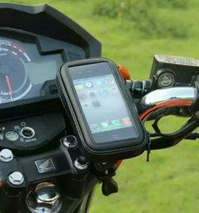 Мото-вело сумка для телефона с креплением на руль