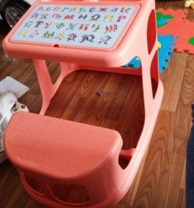 Столик-парта для малышей от1года