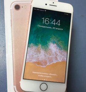 iPhone 7 32gb Rose в идеале как новый