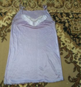 Сорочка с пеньюаром на поясе