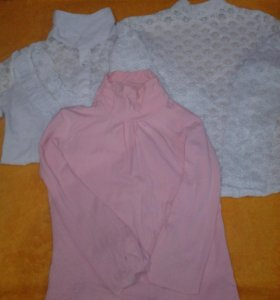 блузки и водолазки