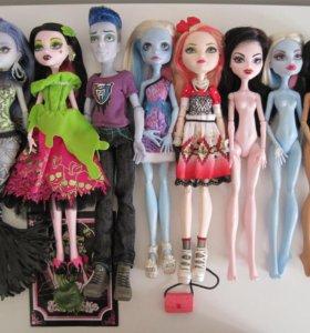 Куклы Monster High и Ever After High