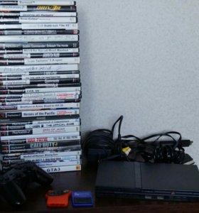 Sony PS2 чипованная