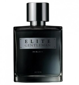 Elite Gentleman in Black, мужской парфюм AVON