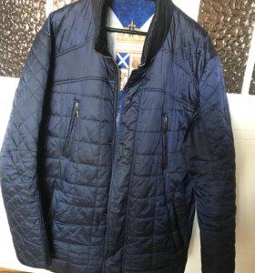 Куртка мужская на тонком синтепоне 50/52
