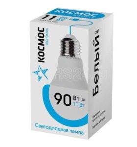 Лампа светодиодная A60 11Вт 220В E27 4500К