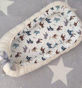 Гнездышко/кокон для новорожденных