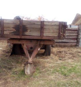 Прицеп тракторный, телега.