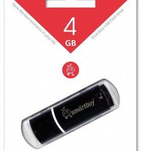 USB флешка Smart Buy 4Gb Crown черная