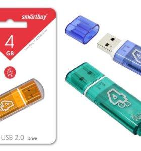 USB флешка SmartBuy 4Gb 2.0 Glossy series