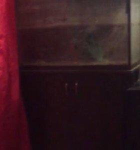 Аквариум с тумбочкой