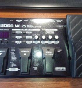 Гитарный процессор boss ME-25