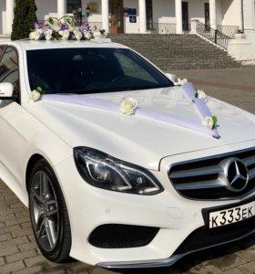 Аренда авто на свадьбу Mercedes E-class W212 AMG