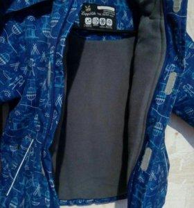 Лаппи кидс куртка зима 104