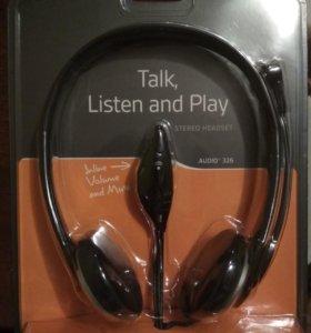 Компьютерная гарнитура Plantronics Audio 326
