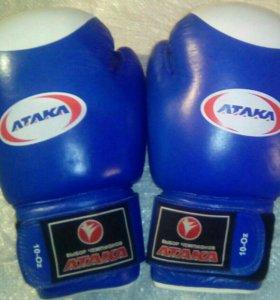 Перчатки боксерские, размер L