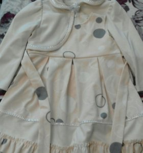 Платье дев.32 размер.