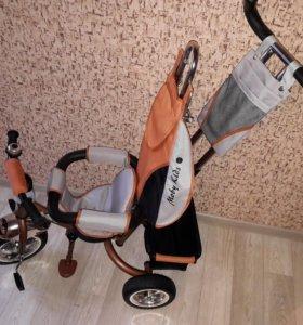 """Велосипед трёхколёсный Moby Kids""""космо"""""""