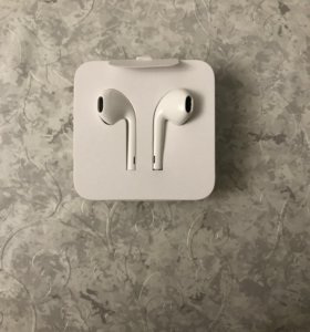 Наушники Apple EarPods с lightening +переходник