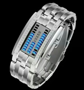 Цифровые браслет часы