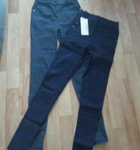 Легенсы джинсовые